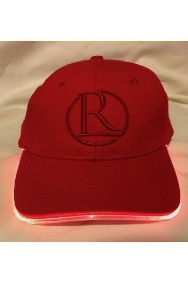 REG31 All Red And Red Light Up Cap