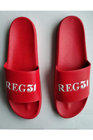 REG31 Red Unisex Sliders