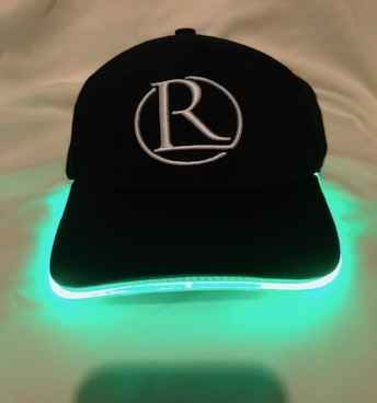 REG31 Black And Green Light Up Cap